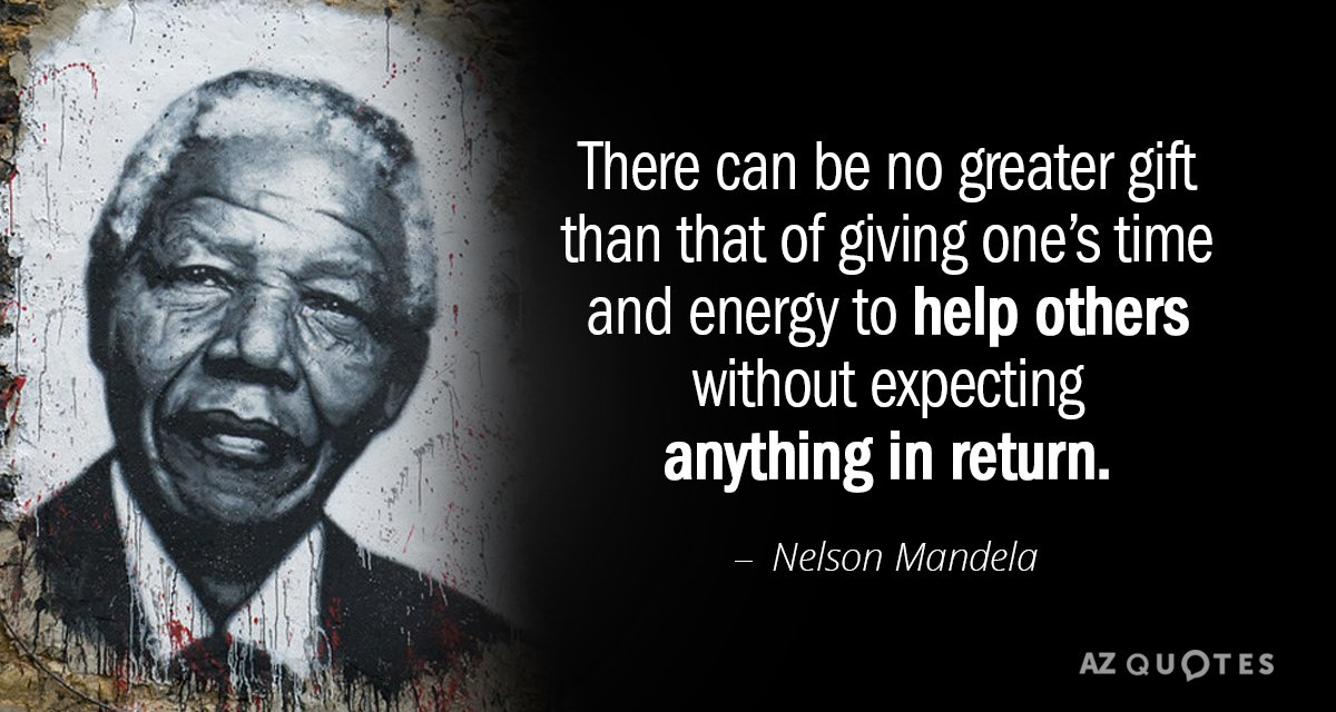 Nelson Mandela Day Habilitation Assistance