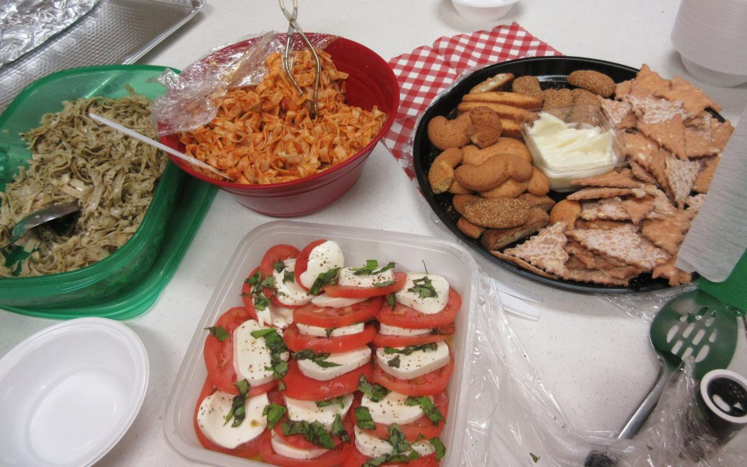 Italian Day at Plymouth Access Center!