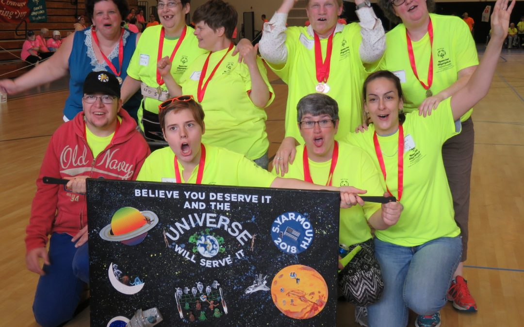 Special Olympics – Yarmouth Banner Winner!
